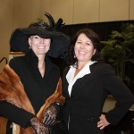 Mrs. Burnthorpe III & Cynthia O'Neill at the Power of the Purse 2012