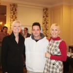 Diane Gordon, Matt Trejo & Jenn Martin