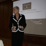 Diane at Windsor Professional Realtor Seminar