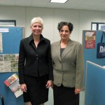 Diane Gordon & Jackie Westalaken at Fanshawe College 2012